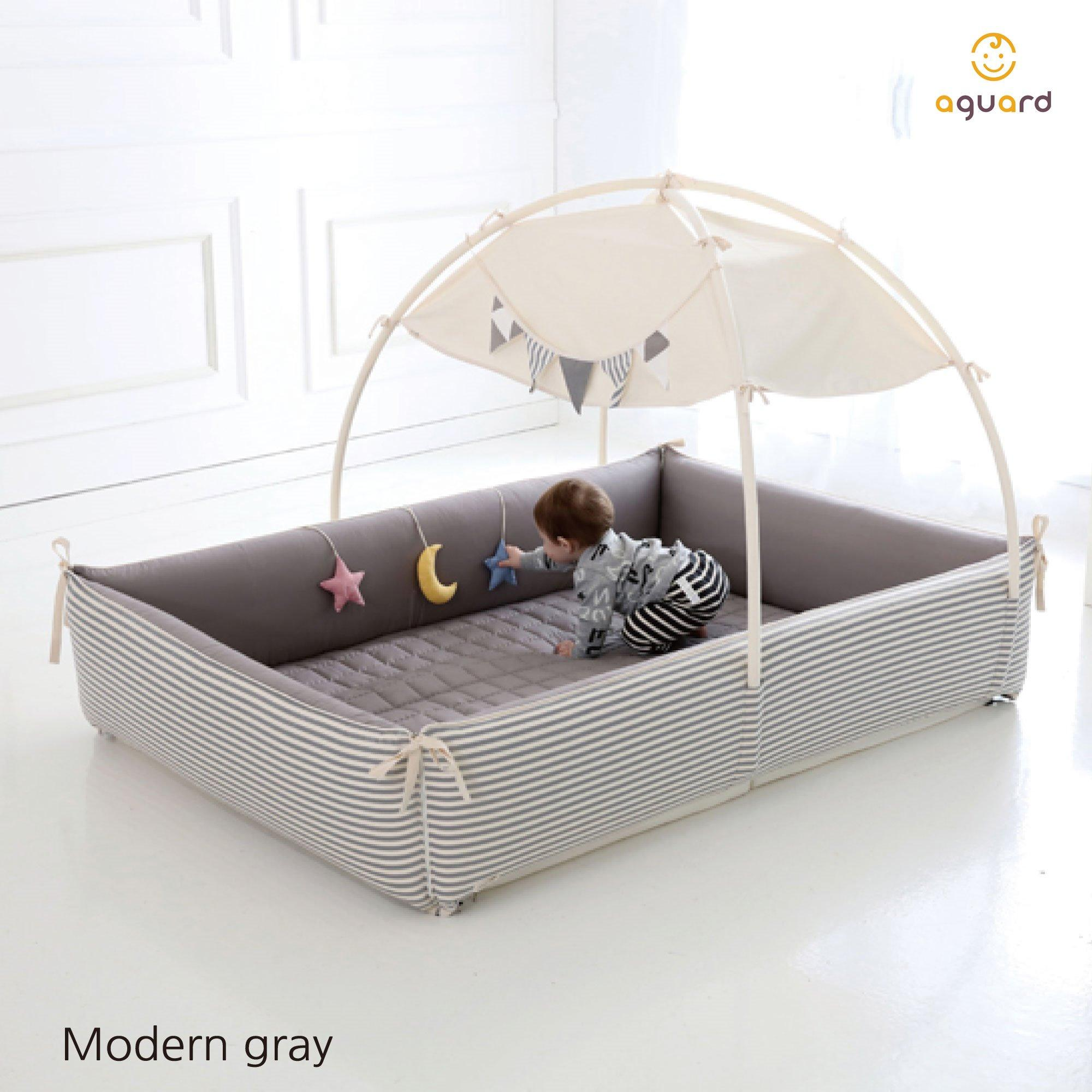 AGUARD Bumper Bed (L) - Modern Grey [EXCLUSIVE DEA