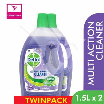 Dettol Multi Surface Cleaner Lavender Value Pack 1.5L x 2