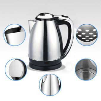 2L Stainless Steel Electric Automatic Cut Off Jug Kettle Silver -intl