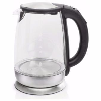MORRIES 1.7L BOROSILICATE GLASS KETTLE W/ 1 HR KEEP WARM FUNCTIONMS3030GKKW (5 LED COLOUR)