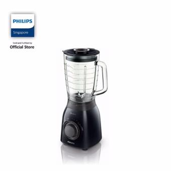 Philips Viva Collection Blender 600 W 2L glass jar Multiple speeds and pulse ProBlend 5 - HR2173/91