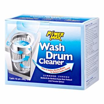 PowerMax Wash Drum Cleaner - 300g = 2 packs (2 boxes)