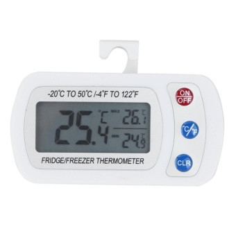waterproof digital lcd freezer thermometer withhanging hook intl