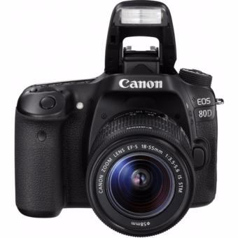 Canon EOS 80D with EF-S 18-55mm IS STM and EF50mm/1.8 twin Lens Kit-export only
