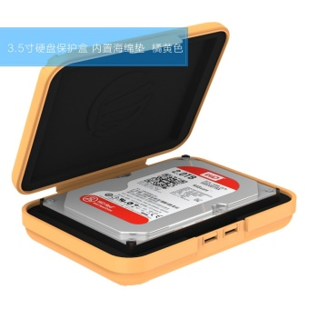Orico phx-35 shock-resistant mobile hard drive organizing Digital Hard Drive bag protection box