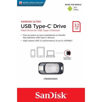 SanDisk Ultra USB Type-C 32GB Flash Drive (SDCZ450-032G-G46) - intl