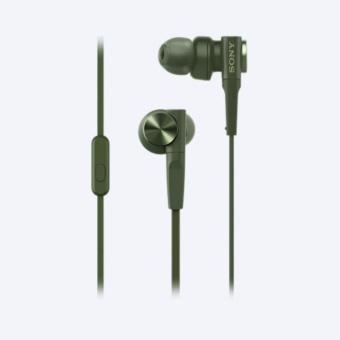 Sony Singapore MDR-XB55AP EXTRA BASS(TM) In-Ear Headphones