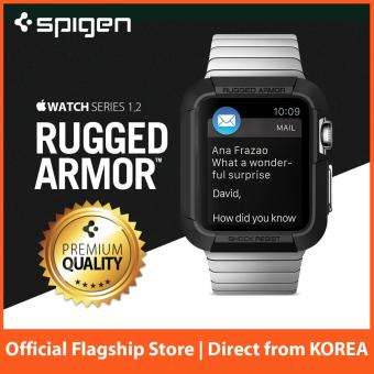 Spigen Apple Watch Case Rugged Armor 38mm Black