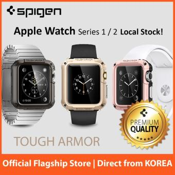 Spigen Apple Watch Series 3 / 2 Case Tough Armor 42mm (Gunmetal)