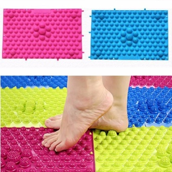1pcs Large Acupuncture Foot Massager Therapy Mat Foot Massage Pad -intl