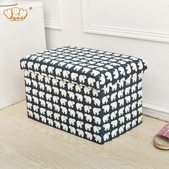 Fashion Linen new storage stool changing his shoes stool