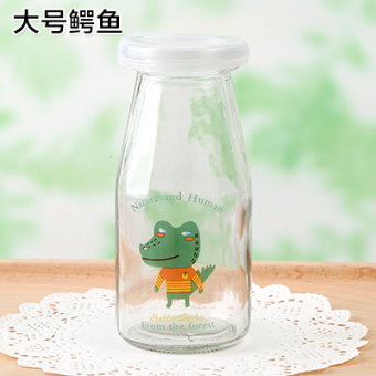 Jelly mousse cup HIGH-TEMPERATURE resistant glass bottle pudding cup