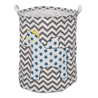 Large Clothes Storage Laundry Basket Kids Toy Organizer (StarHorse) - intl