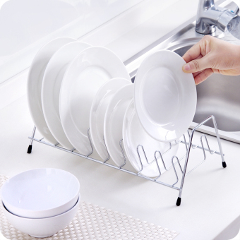 Multi-functional stainless steel dish rack drain rack