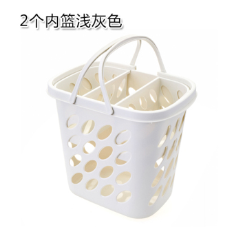 Plastic Bathroom fitted clothes basket laundry basket