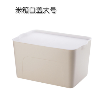 Plastic home bed bottom clothing storage box large storage box