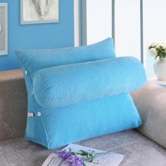 Seat bedside sofa big pillow chair waist pillow
