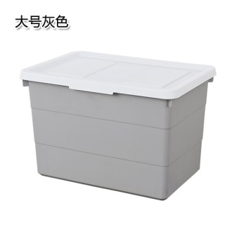 Wardrobe fitted clothes storage box plastic storage box