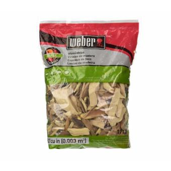 Weber Apple Wood Chips, 2-Pounds