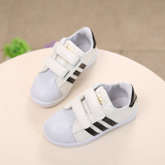 2016 spring and summer New style casual shoes children's sportsshoes boy female shoes casual small white shoes Shoes Baby Shoes