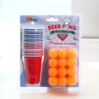 Beer Table Tennis entertainment beer cup
