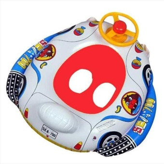 Cartoon Baby Swim Ring Inflatable Toddler Kid Float Swimming Pool Water Seat Hot - intl