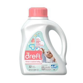 Dreft Active Baby Detergent Stage 2 (6 months+) (1.47L X 1bottle)