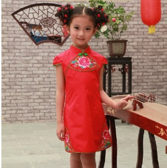 Girls princess dress Cheongsam
