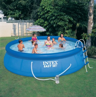 Intex dish-shaped network folder inflatable pool home Swimming Pool