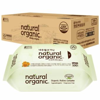 Natural Organic Original Baby Wipes (100 sheets x 10 packs)