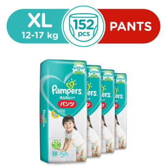 Pampers Baby Dry Pants XL 38s (12-17kg) x 4 Packs