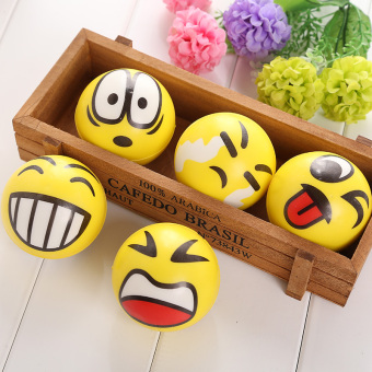 Smiley Ball Smiley Stress Ball Smiley Squeeze Ball Anti Stress Squeeze Toys