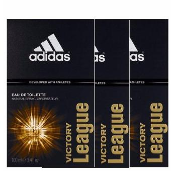 Adidas Victory League EDT 100ml x3bottles