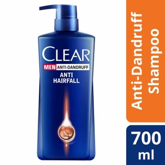 Clear Men Hair Fall Defense Anti-Dandruff Shampoo 700ml