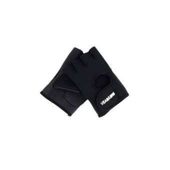 Gym Weight Lifting Gloves Black (EXPORT)(Export)(Intl)
