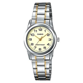 Casio Women's Stainless Steel Strap Watch LTPV001SG-9B