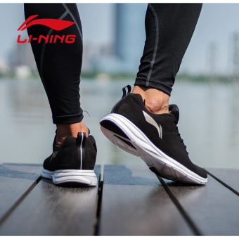 LI-NING lightweight breathable running shoes