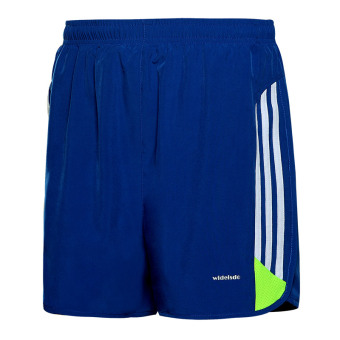 Men running fitness quick-drying pants sports shorts (Style a blueand white)