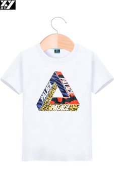Palace Korean-style white short sleeved men T-shirt (White 1) (White 1)
