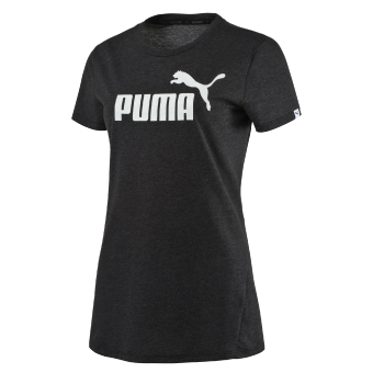 PUMA ESS No.1 Tee Heather W - Gray