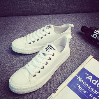 Sports Korean-style summer white shoes trendy shoes (Ouma 42 + A1031 white) (Ouma 42 + A1031 white)