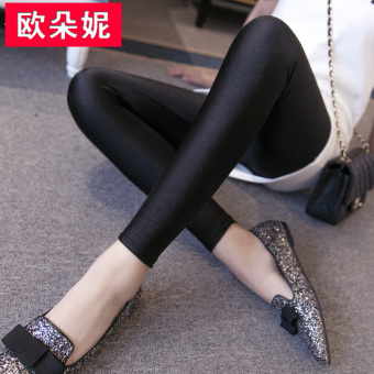 Wild black female outer wear pencil pants bottoming pants (Nine points black) (Nine points black)