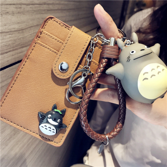 Cartoon cute card sets keychain pendant bus Subway Access control traffic card sets Student Campus Card meal card sets