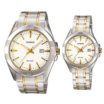 Casio Couple Metal Watch LTP1308SG-7A MTP1308SG-7A