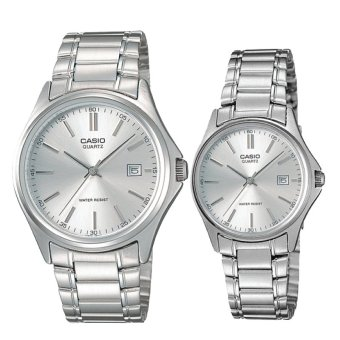 Casio Couple Stainless Steel Watch LTP1183A-7A MTP1183A-7A