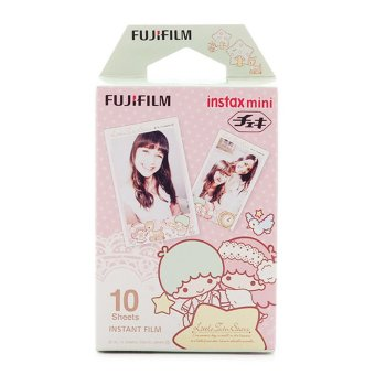 Fujifilm Instax Mini Little Twin Star Instant Films - 10 Sheets