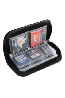 Lazada Fashion & Accessories Deal: 71% off Blue lans Memory Card Wallet (Black) from Blue lans