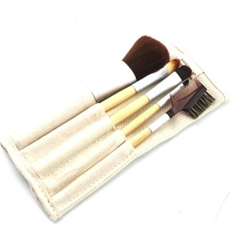 Green Cosmetic Brushes 5