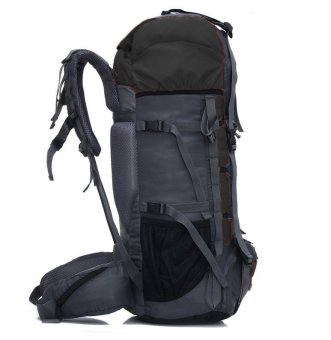 Aeroline 70L Professional Waterproof Mountaineering Backpack (Black)