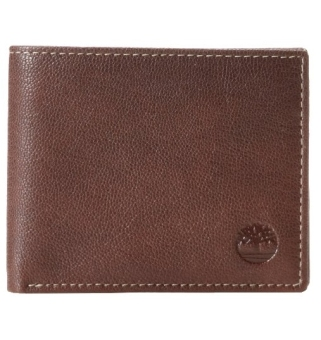 Lazada Fashion & Accessories Deal: 41% off Timberland Men's Blix Leather Wallet, Brown from Timberland